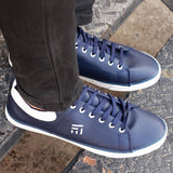 Contrast Counter Sneakers For Men