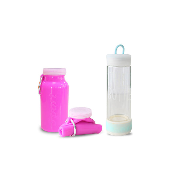 Fizz Combo Offer: Mini Gripper and AquaTwist Collapsible Bottle