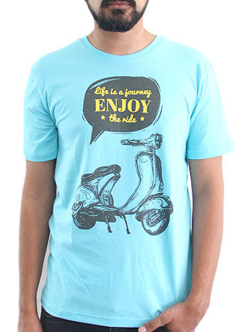 Men's Printed Tees: Journey of Life