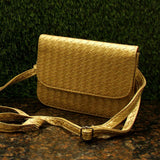 Glamorous Woven Party Sling Bag
