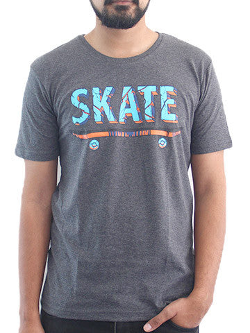 Men's Printed Tees By Fizz: Skater Design