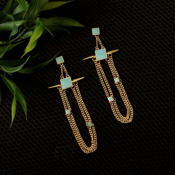 Turq Style Earrings