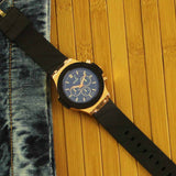 Octa Time Juno Series: Reflective Dial Metal-Silicone Watch