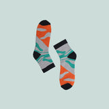 Funky Unisex Socks: Waves