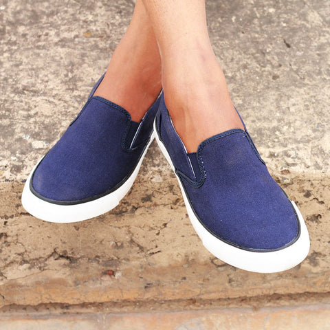 Funky Casual Slip-On Sneakers for Women