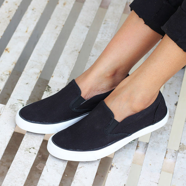 amazon best wholesaler presenting Funky Casual Slip-On Sneakers for Women