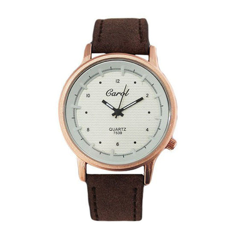 Analog Wave Dial Watch for Women