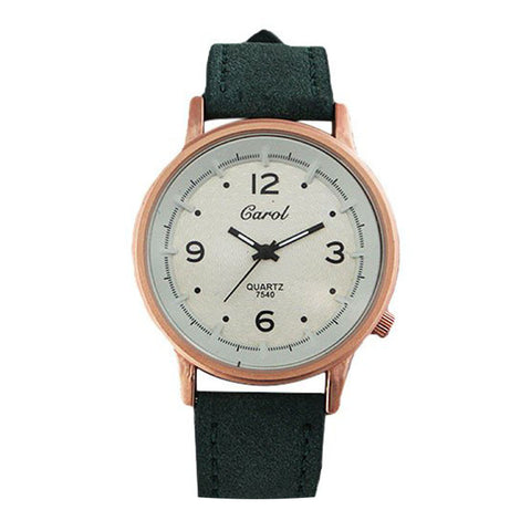 Carol Women's Analog Rainbow Dial Watch