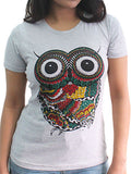 Women's Printed Tees: Wise Owl