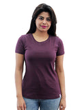 Cotton T-Shirts For Women By Fizz: Blue