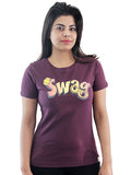 Women's Printed Tees: Swag Design