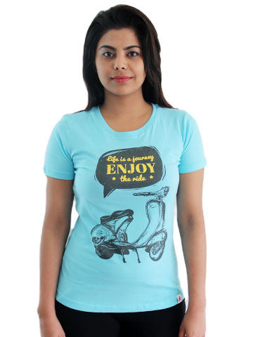 Women's Printed Tees By Fizz: Journey of Life