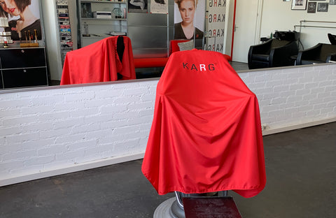 NEW K-Cutting Cape red