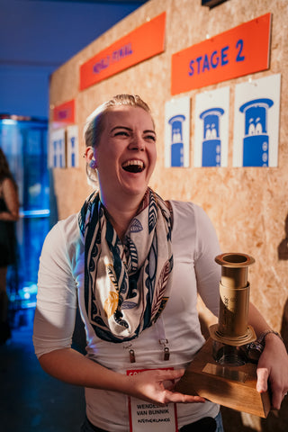 Congratulations to our 2019 World AeroPress Champion!