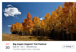 Cripple Creek's Big Aspen's Happenin'