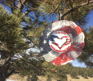 """Absolutely love our sun catcher- best quality I've ever seen"". - Bob Williams, Omaha, NE"