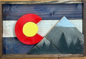 Colorado Shadow Box
