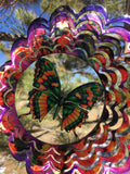 Mini Kaleidoscopic Purple Butterfly