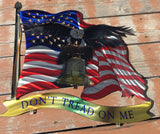 Don't Tread On Me American Liberty Flag