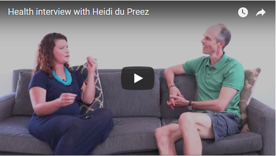 Health Interview with Heidi du Preez