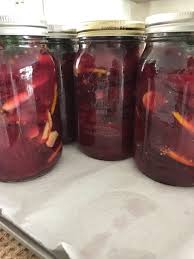 Fermented Spicy Beets