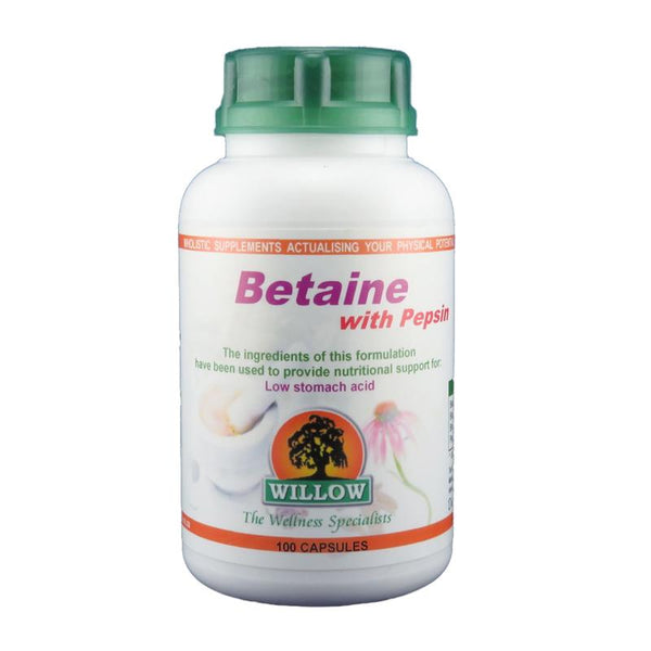 Betaine HCL with Pepsin (NEW) 50's