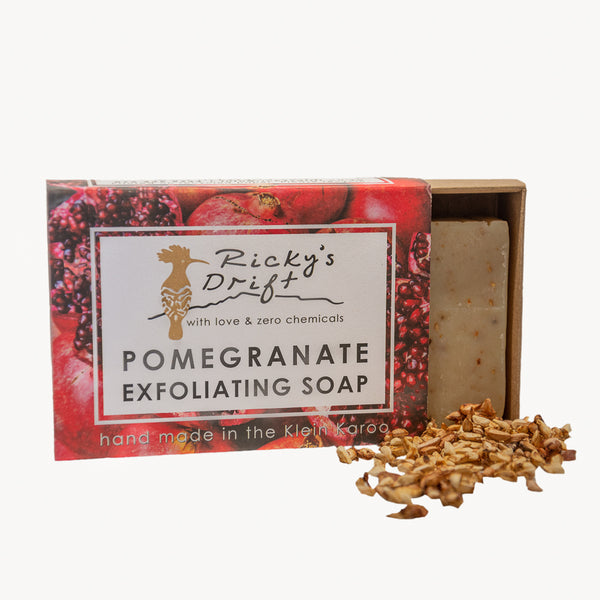 Pomegranate Exfoliating Bar Soap