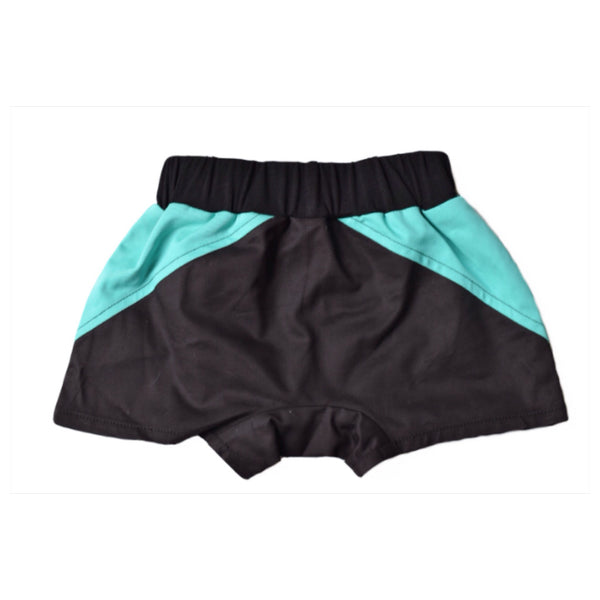 *ON SALE* Black Mint Harem Shorts