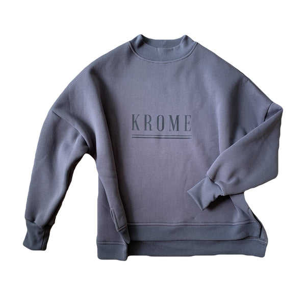 Ladies Krome Sweater - Storm