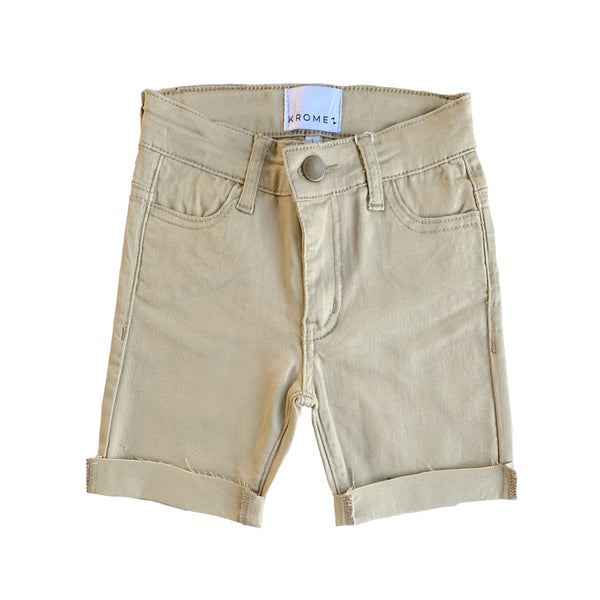 *ON SALE* Krome Short Jeans - Kids - Sand