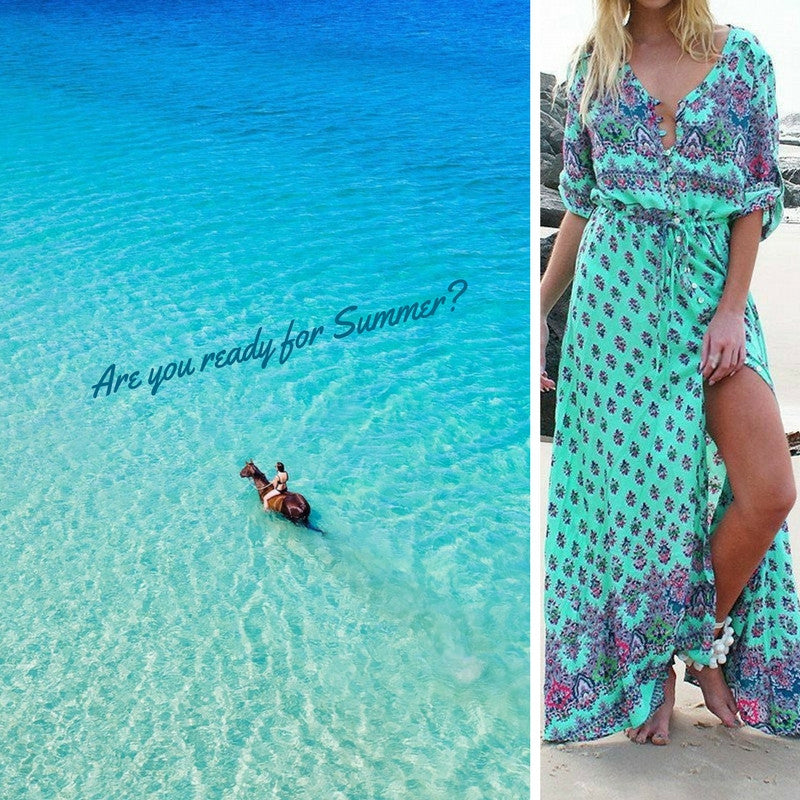Best Bohemian Summer Dresses You Need Right Now 2017