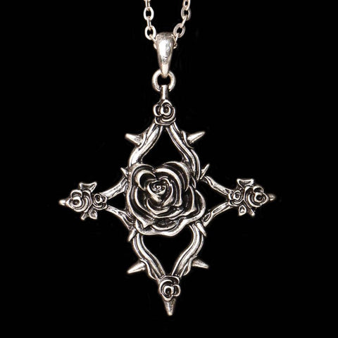 Thorn Rose Necklace