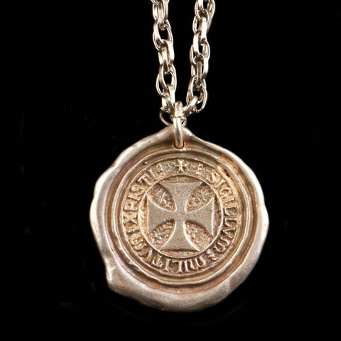 Seal of the Knights Templar Pendant