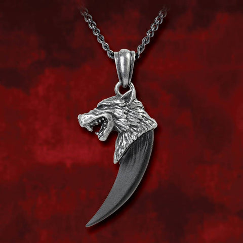 Norse Wolf Macht Pendant