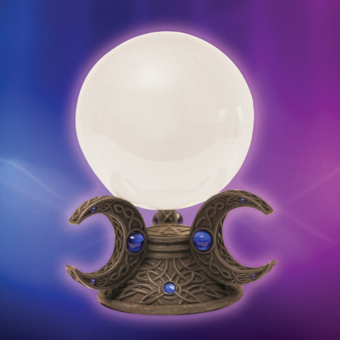 Moon Goddess Crystal Gazing Ball