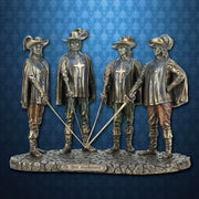Musketeers Statue
