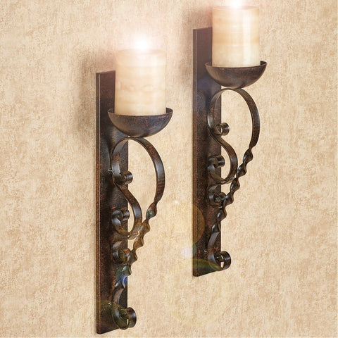 Castle Wall Sconces (set of 2)