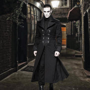 Midnight Wolf Long Coat