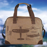 WWII Pilot Bag - Corsair Fighter