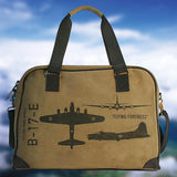 WWII Pilot Bag - Flying Fortress Bomber