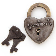 Winchester Heart Shaped Iron Lock
