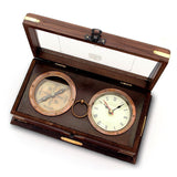 Her Majesty's Royal Navy Set w/ Clock and Compass