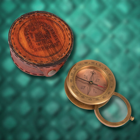 Mary Rose Commemorative Compass and Magnifier