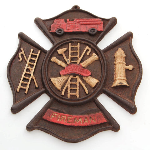 Fireman Wall Plaque