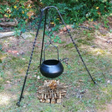 Hand Forged Iron Medieval Cooking Tripod