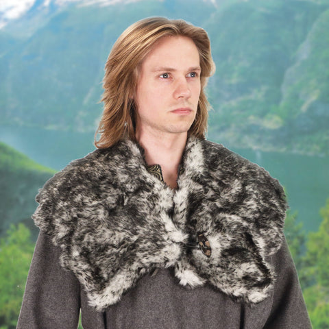 Wolf Fur Mantle