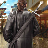 Knightly Sword Hilted Umbrella - Shoulder Strap