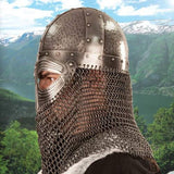 Vendel Dark Ages Viking Helmet with Aventail