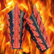 Dragon King Leather Greaves - costumesandcollectibles