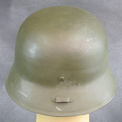 Hungarian M38 WWII Steel Helmet - Costumes and Collectibles